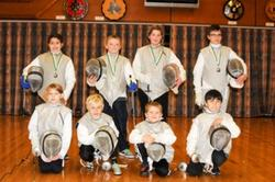 New fencers get their first taste of competition