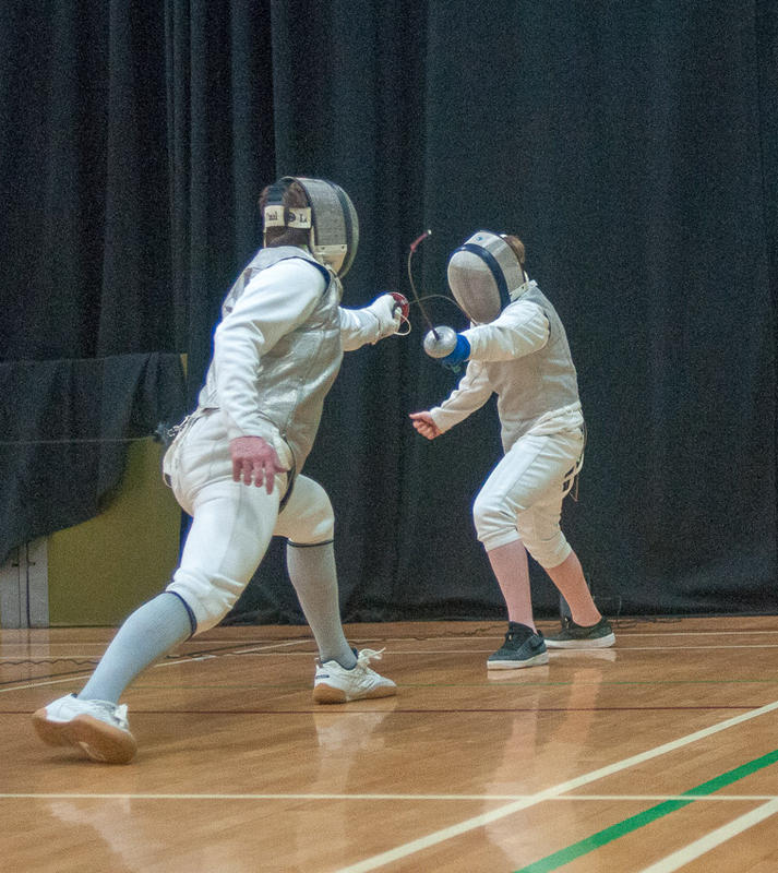 Max, left, and James in the final